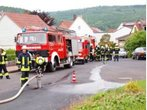 Küchenbrand in Friedlos