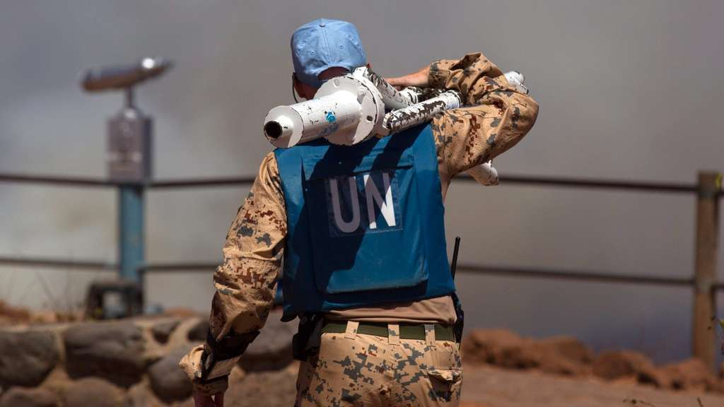 UN-Soldiers, Golan Heights