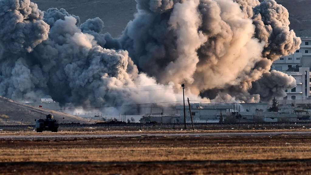Kobane, IS