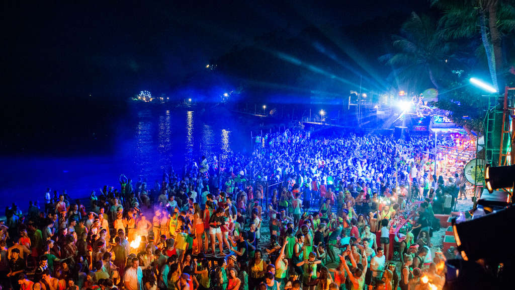 Full-Moon-Party, Koh Phangan