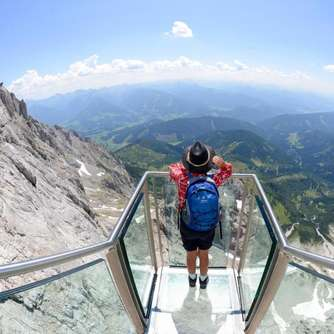 Spektakuläre Skywalks in den Alpen