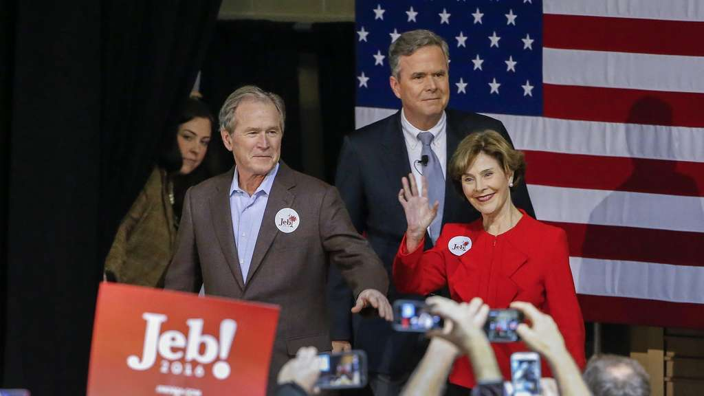 George W. Bush, US-Wahl 2016, Jeb Bush