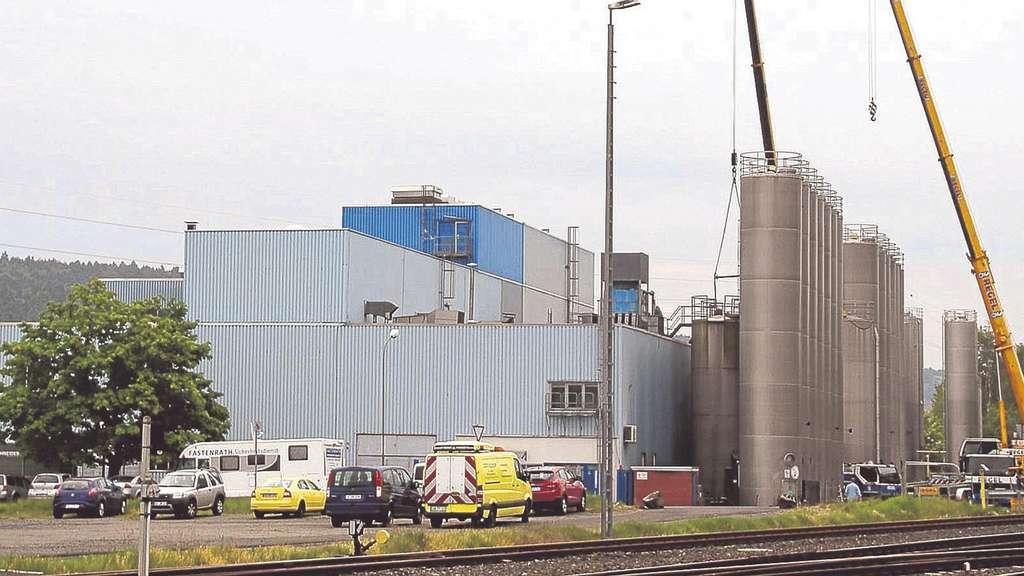 Außer Betrieb: Auf dem Werksgelände von RKW-Agri im Philippsthaler Ortsteil Röhrigshof läuft derzeit die Demontage der technischen Anlagen. Foto: Eisenberg