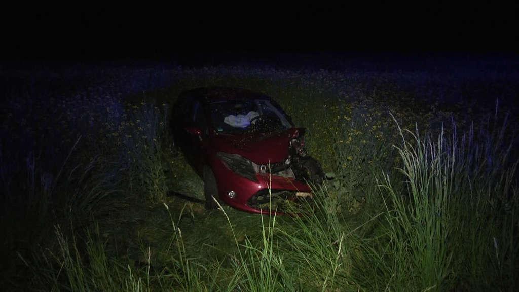 Fünf Verletzte bei Verkehrsunfall in Osthessen