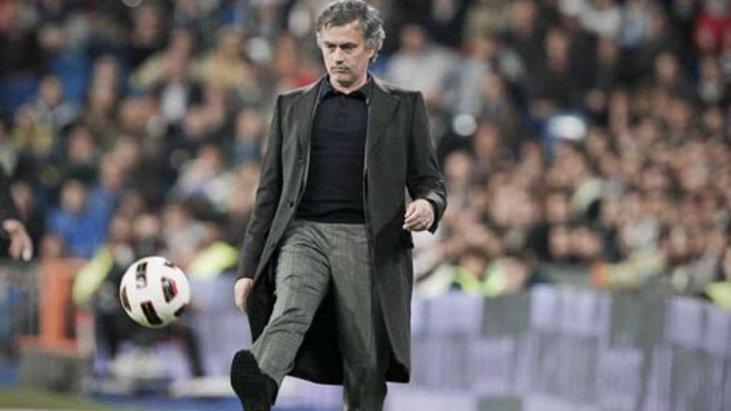 José Mourinho Trainer von Real Madrid