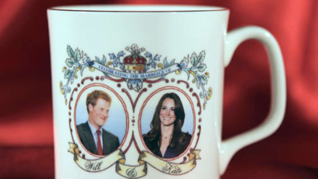 Tasse Kate Middleton und Harry