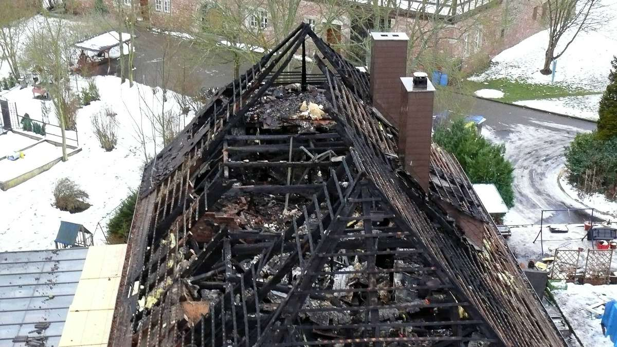 Klosterschänke: Defekte Deckenleuchte löste Brand aus | Bad Hersfeld