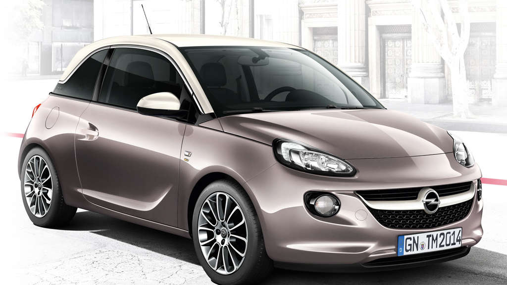 "Opel Adam als ""Germany's next Topmodel""."