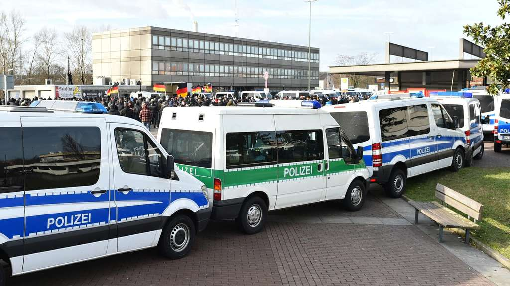 Demonstration, Ludwigshafen