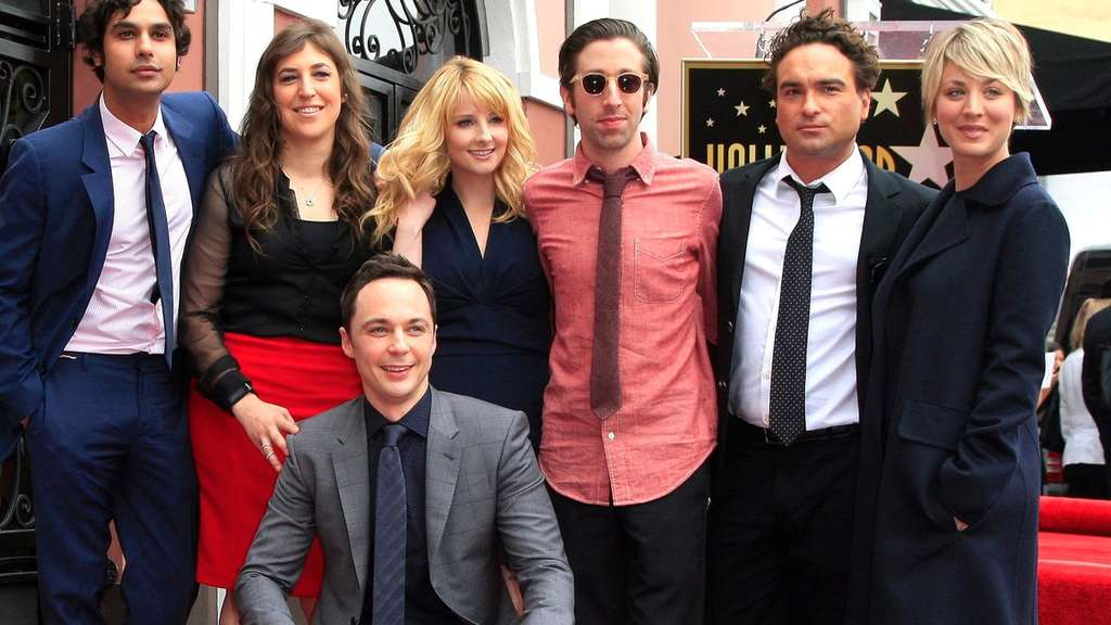 Jim Parsons auf Walk of Fame.