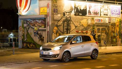 Mitsubishi Space Star: Mehr Pep in der City