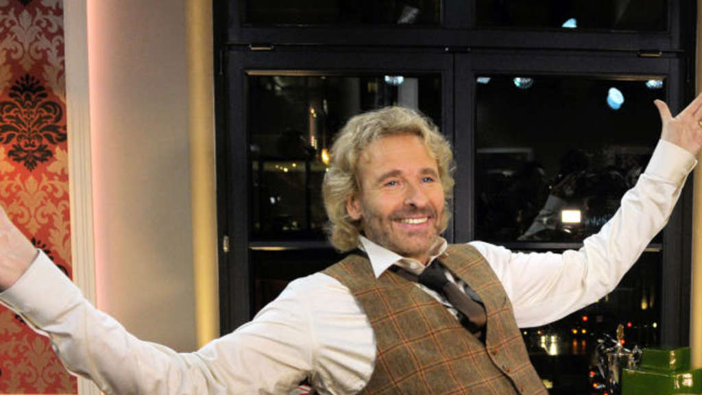 Showmaster Thomas Gottschalk.