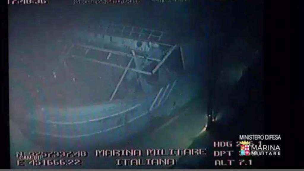 Migrant ship that sank off Sicily last year with an estimated 700