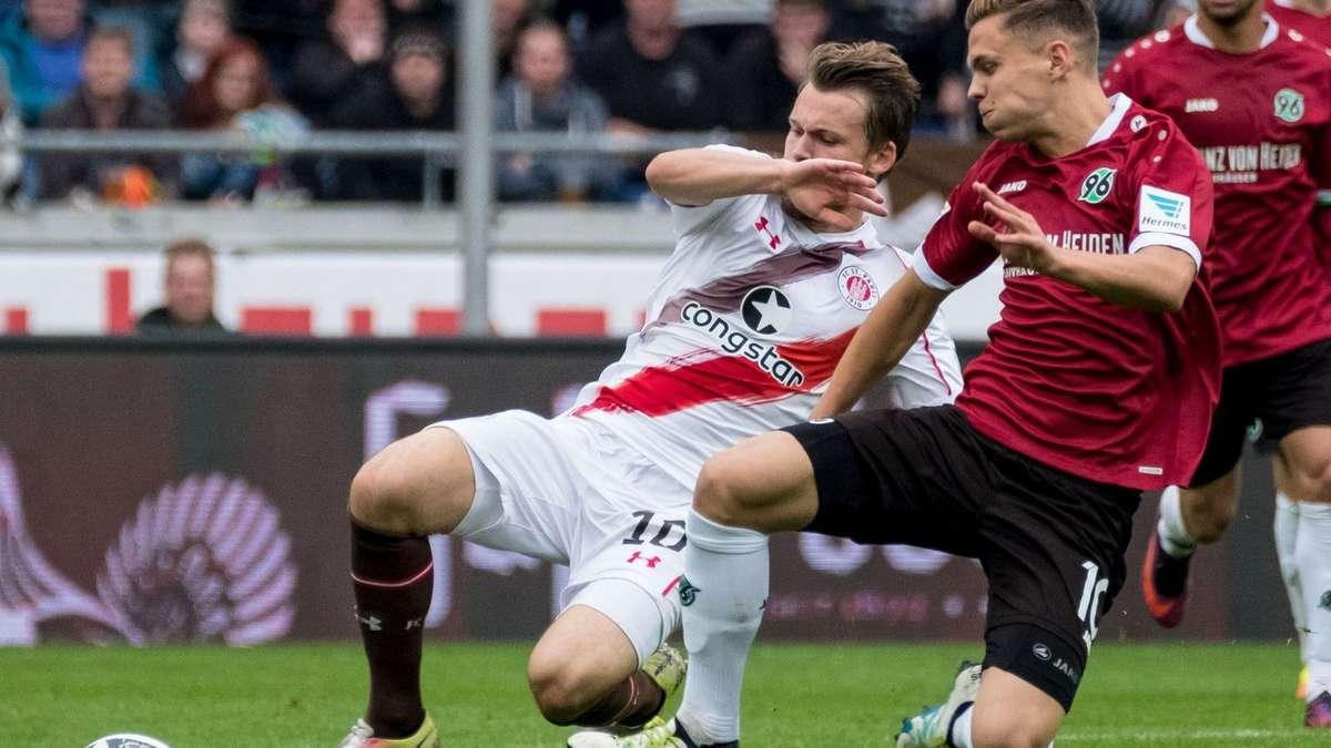 Hannover 96 Gegen St. Pauli