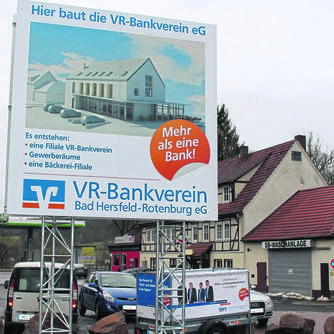 VR-Bankverein baut in Obergeis