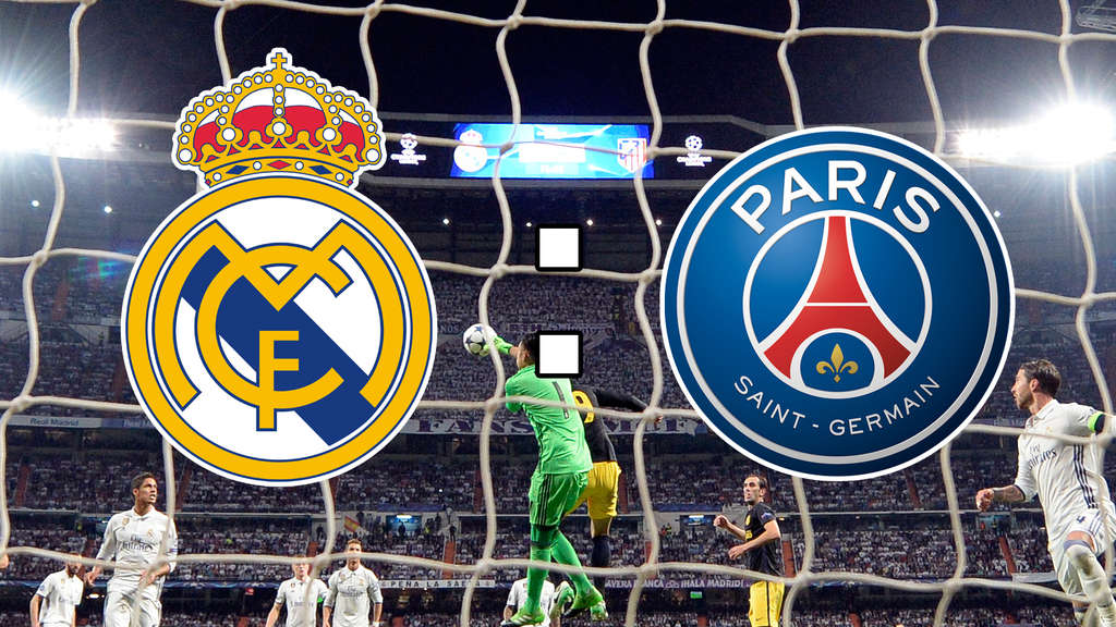 Real Madrid gegen Paris Saint-Germain, Achtelfinale der Champions League im Live-Ticker