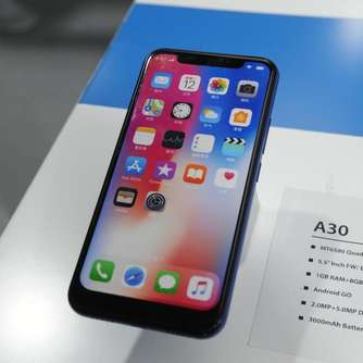 Display-Lücke des iPhone X wird zur Smartphone-Mode in Asien