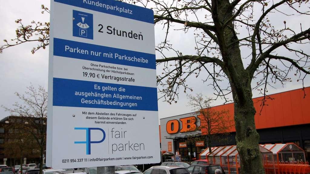 kostenfrei nur f r kunden neue parkregelung auch am obi markt in bad hersfeld bad hersfeld. Black Bedroom Furniture Sets. Home Design Ideas