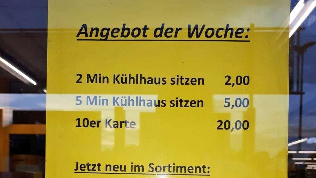 Hitzewelle: Rewe-Markt vermietet Kühlraum zum Abkühlen | Hessen