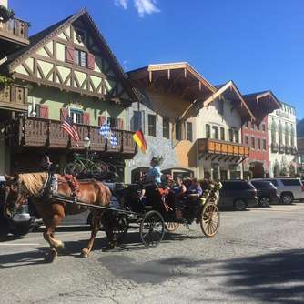 Das Dorf Leavenworth in den USA lebt bayerische Tradition