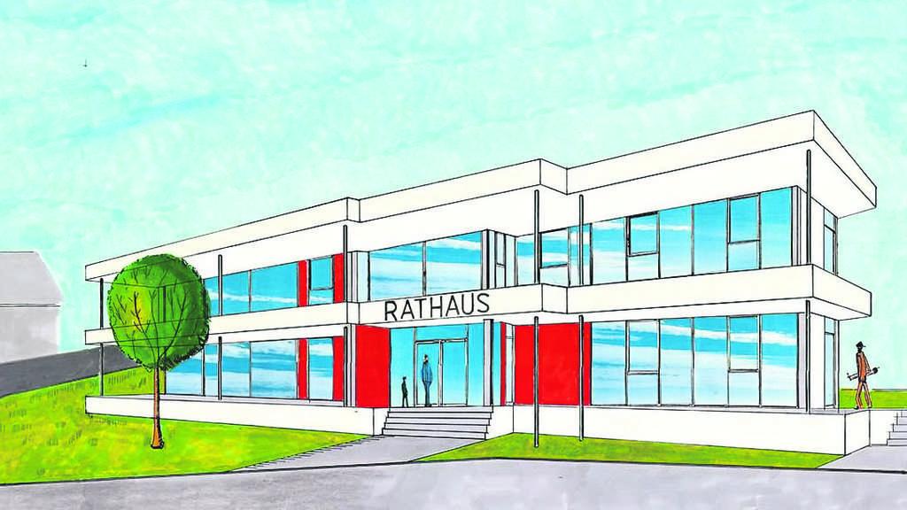 Geplanter Rathaus Neubau In Hauneck Nimmt Gestalt An Kosten Bei