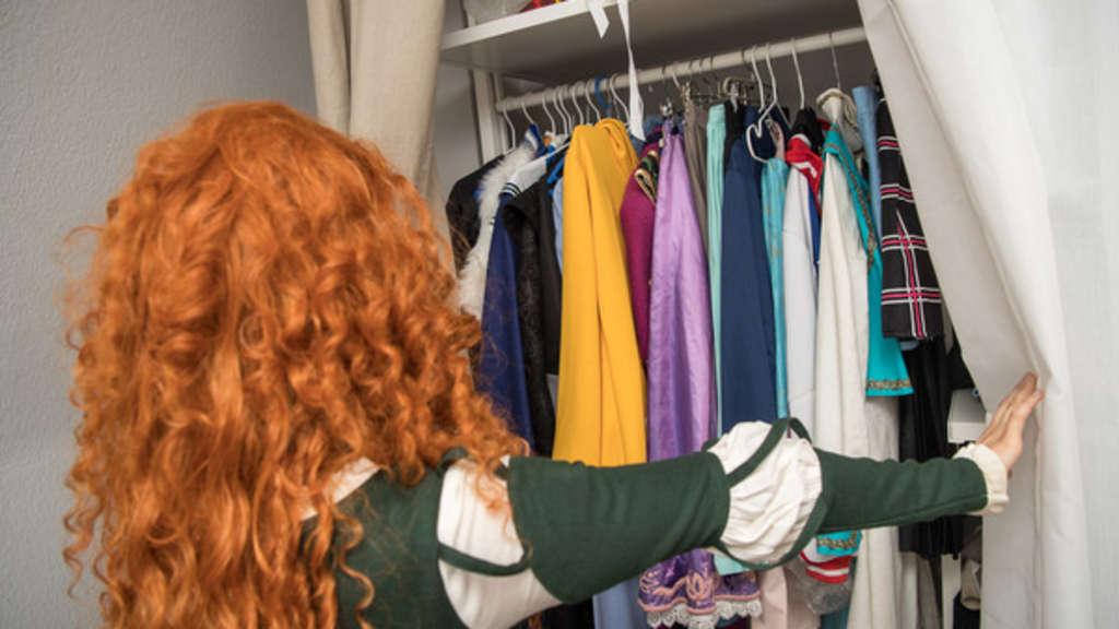 Statisch Aufgeladene Kleidung