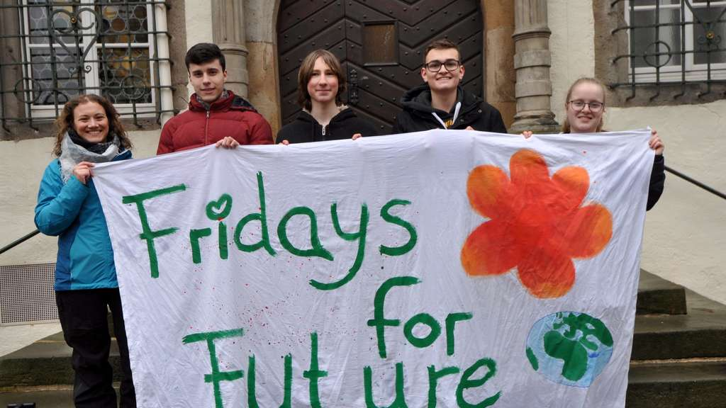 Fridays for Future, Hersfeld, Demo, Demonstration, Schüler, Klima, Greta Thunberg, Greta, Klimaschutz, Protest, Greta, Lisa Simla, Fernand Adam, Julian Schneider, Jule Gernart