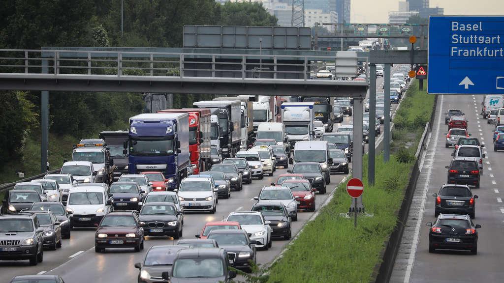 Verkehrsunfall Frankfurt Heute