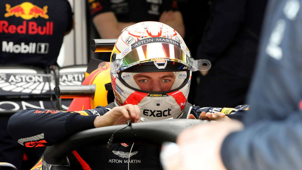 Maxc Verstappen war nach dem Qualifying in China sichtlich angefressen.