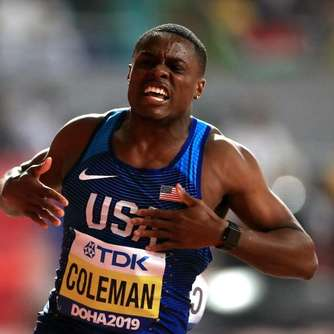 US-Sprinter Coleman erobert 100-Meter-Gold bei WM