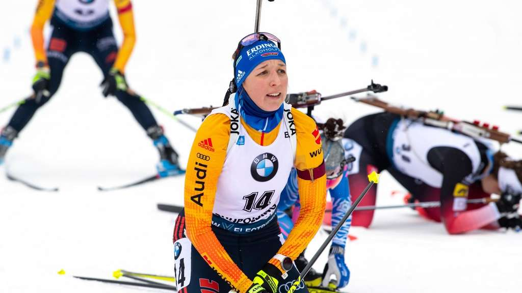 Biathlon in Pokljuka: Franziska Preuß aus Albaching ist auch in Slowenien am Start.