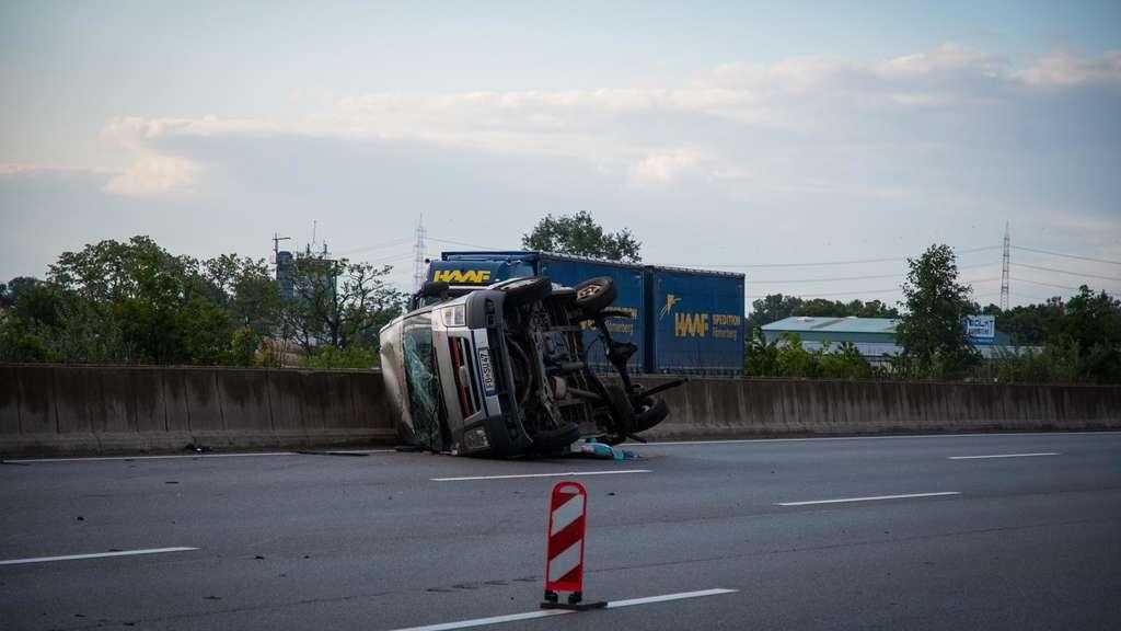 Unfall A5 Darmstadt