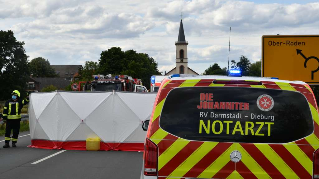 Tödlicher Unfall Darmstadt
