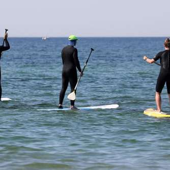 Das Massenphänomen Stand-up-Paddling