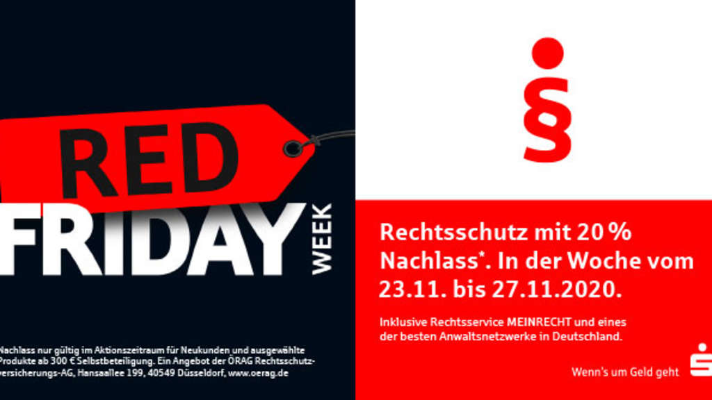 Red Friday Week bei der Sparkasse Bad Hersfeld-Rotenburg mit besonderer Aktion