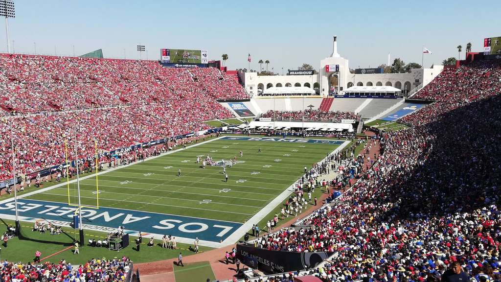 American Football Stadion in Los Angeles